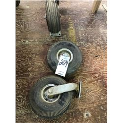 4 commercial Wheels