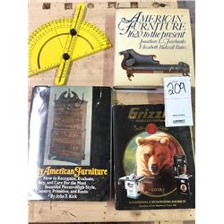 Woodworking book lot