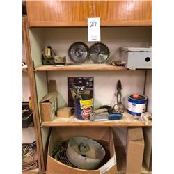 Shelving lot (scissor and blades )