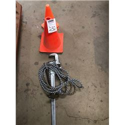 Pipe Wrench and Cones