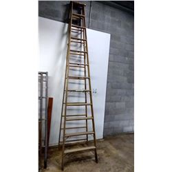 Wooden Ladder OSA APPROVED