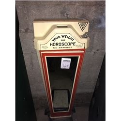 Weight and Horocope Teller