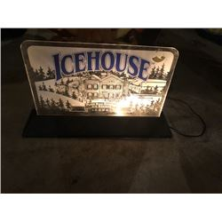 Icehouse Light Up Beer Sign