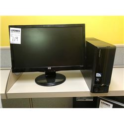 BUNDLE LOT: HP Monitor, Dell Monitor, 2 E-machines Towers, Mouse, Keyboard