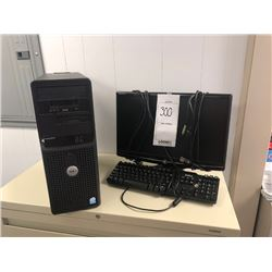 E-machines Monitor, Dell Keyboard, Dell Tower, Poweredge SC430