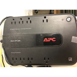 APC Back-UPS 600 Battery Backup & Netgear Router