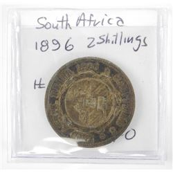 South Africa - 1896 2 Shillings XF # 7