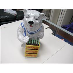 Coca-Cola Bear Cookie Jar