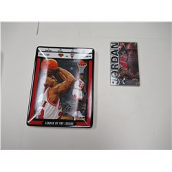 Michael Jordan collector plate & card
