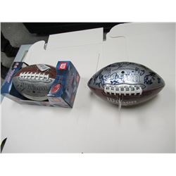 2 Signed Footballs - Dave Dickenson + whole BC Lions team