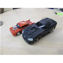 2 Remote Control Cars no remotes