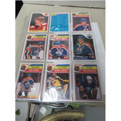 1984-1985 OPC Cards- 9 cards