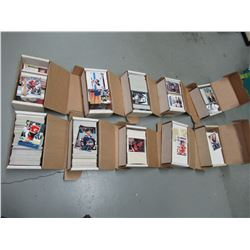 10 Open Boxes of 1990's Hockey Cards