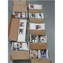8 Boxes of hockey cards