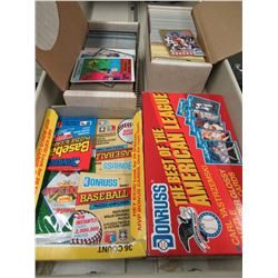 Loose & Unopened baseball and basketball cards