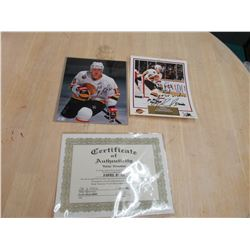 Signed Pavel Bure Pics with COA