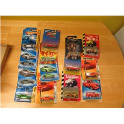 Mixed Lot of 14 miniature diecast cars