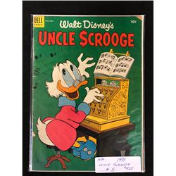 1954 UNCLE SCROOGE #5 (DELL COMICS)