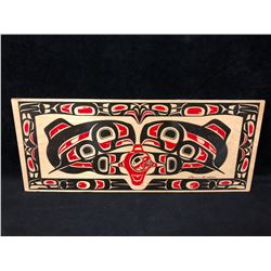 """NATIVE WOODEN WALL PLAQUE (7"""" X 18"""")"""