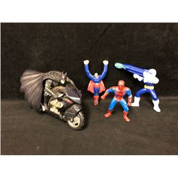 ACTION FIGURE TOY LOT (SUPER HEROES)