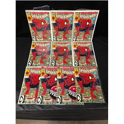 SPIDER-MAN #1 LOT (MARVEL COMICS) 1ST ALL NEW COLLECTOR'S ITEM ISSUE