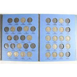 1913-1938 PARTIAL BUFFALO NICKEL SET CONTAINS: