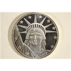 1 TROY OZ .999 FINE SILVER PROOF ROUND LIBERTY