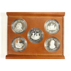 OFFICIAL CARAVEL SILVER COLLECTION COMMEMORATING