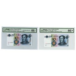 Peoples Bank of China, 2005, Ladder and Mostly Solid Serial Pair
