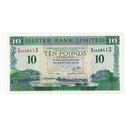 Ulster Bank, 1999 Issued Replacement Banknote.