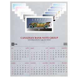 Canadian Bank Note Group, 1996 Advertising Philatelic Calendar of CAPEX'96.