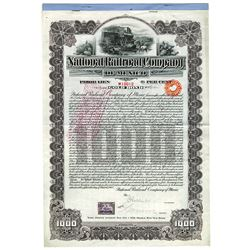 National Railroad Co., 1902 Issued Bond