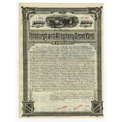 Pittsburgh and Allegheny Drove Yard, 1885 Specimen Bond
