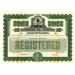 Standard Oil Co., 1926 Specimen Registered 5% Gold Bond.
