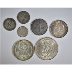 SILVER FOREIGN COIN LOT