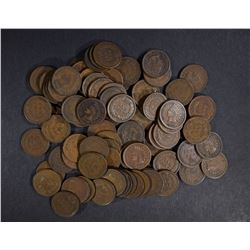 80 INDIAN CENTS AVE CIRC OR BETTER NICE LOT!!