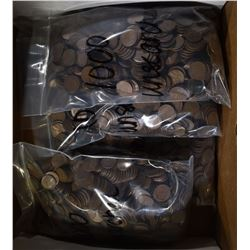 5000 MIXED DATE CIRC LINCOLN CENTS