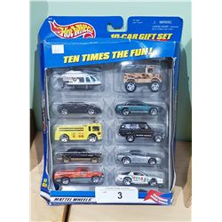 1997 HOTWHEELS 10 PACK SET