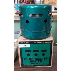 1960'S IGLOO MASTER HEATER