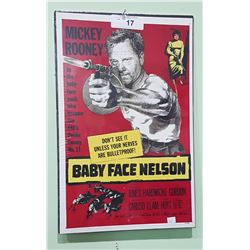 BABY FACE NELSON MOVIE POSTER LOBBY CARD