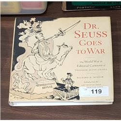 DR. SEUSS GOES TO WAR HARDCOVER BOOK