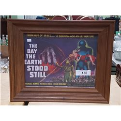 THE DAY THE EARTH STOOD STILL MOVIE CARD