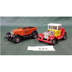 2 VINTAGE TONKA PRESSED STEEL HOT ROD CARS