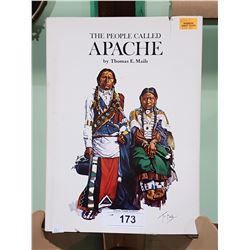 THE PEOPLE CALLED APACHE HARD COVER BOOK BY THOMAS E. MAILS