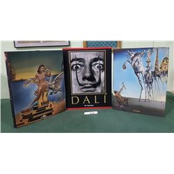 DALI 'THE PAINTINGS' VOLUME 1 & 2 HARD COVER BOOKS