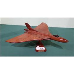 WOOD JET MODEL ON STAND