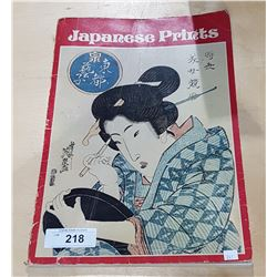 JAPANESE PRINTS LARGE PICTURE BOOK 1700-1900