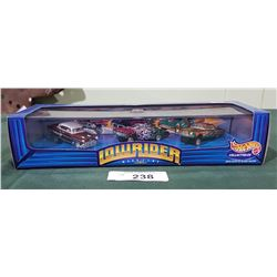 HOTWHEELS LOWRIDER 1ST RUN COLLECTOR CARS SEALED PACKAGE