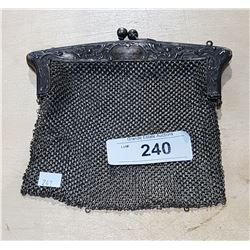 ANTIQUE CHAIN MAIL PURSE