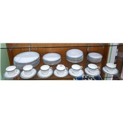 "64 PC SET AYNSLEY ""KENMORE"" CHINA"